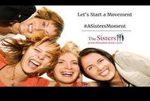 #ASistersMoment / At The Sisters Wine, we are on a mission to acknowledge women for who they are and what they do. We want to encourage them to do the same and take time out for themselves. We want them to take time to enjoy the special friendships that we as women have and share #ASistersMoment