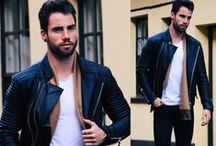 The Rider / This luxurious leather jacket, with BODA's signature ribbing is a modern take on the quilted biker with a sleek front, and fine ribbing along the sleeve and neck for a sophisticated yet edgy look. A wardrobe essential for men serious about style