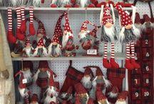 Новогодние скандинавские гномы
