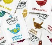 Higher Living / Infused with ingredient, taste and clever coding, the beautiful bird icon we've created for Higher Living effortlessly delivers real personality and the promise of an uplifting experience!