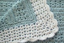 Living on the (crochet) edge / Sometimes you just need an edge, here are some cool crochet edges and borders