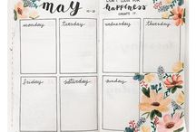 bullet journal ideas and inspirations