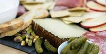Cheese Plates & Cheese Boards / Discover inspiration to bring your next perfect cheese plate to life! Your cheese board will be anything but bored.