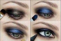 MakeUp / makeup, makeup tutorial, makeup for blonde, makeup for brunette, eye makeup, lips makeup, contouring, faces shapes and so on.