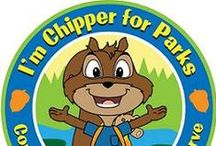 Chipper For Parks / Are you Chipper For Parks? If so, join us in raising awareness and necessary funds to support programs - from local playgrounds to our national park systems. Chipper and friends are on a mission to connect and celebrate with families and communities across the country.