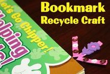 Chipper Recycle Crafts / DIY Recycle Nature Craft ideas for parents and teachers. Teach your kids to turn trash into art!