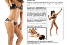 Fitness Photo Shoots / Fitness Photos, Magazine Shots, Interviews