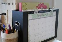 organizing / by Leann VanMoen