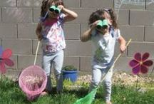 Fun Activities for Kids / Nature-inspired, play-based learning activities and outdoor fun!