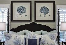 Beach Coastal Inspired Bedrooms / by Elayne Forgie