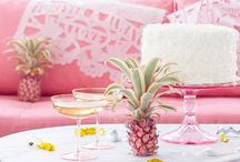 Pink party ideas / by Contents: Party, Christmas & Home