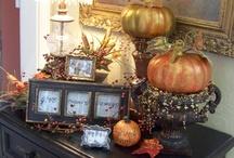 autumn decor / by Shannan