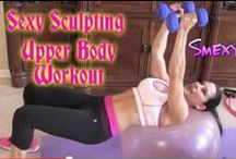 Upper Body Workouts with Laura London / Upper Body Workout to strengthen, tighten and tone with Laura London. You can be Fit and Fabulous at Any Age!