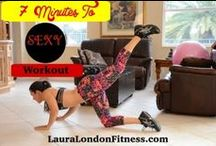 Fitness Workouts for Woman With Laura London / Workout Videos with Laura London Fitness Get it in and get it done with my quick and efficient fat burning, body toning workouts.  Great to do ant home or in the gym.  Best part is we get to workout together!  Laura :)