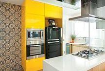 Cozinhas / Cozinhas criativas, lindas e organizadas nos mais variados estilos.
