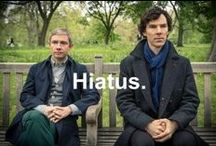 Sherlock + John / The worlds only consulting detective and his blogger. / by Jennifer Angier