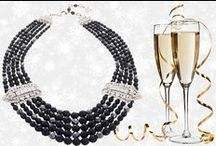 Holiday Jewelry / The party season is about to start .. this board is a few ideas for jewelry that will get you through the party season . Office party to black tie ... #Formal party jewelry#blacktie necklace#statement necklace#holiday partyjewelry