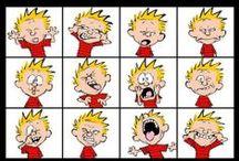 Calvin & Hobbes / by Helen Bouhl