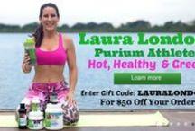 Purium 10 Day Celebrity Transformation / Purium 1o Day Celebrity Transformation with Purium Athlete Laura London