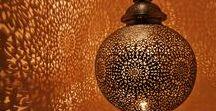 Iluminação / Formas alternativas e criativas para iluminar porque nem só de gesso vive um teto e luz é fundamental para criar seu clima em casa.
