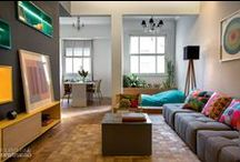 Salas de estar / Antes de tudo, a sala de estar tem que atender seu estilo de vida. Fuja das convenções e ouse inspirando-se por aqui!
