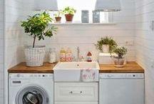 Lavanderia / Porque a lavanderia também pode ser linda pro dia a dia fluir melhor, mas, às vezes, a gente esquece dela...☹️