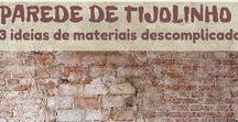 Materiais & Combinações / Acrílico com cestaria, tijolo e espelho... Contrates e harmonizações de materiais para inspirar o inusitado em casa.