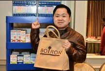"2015 HBO Luxury Lounge - Golden Globe Awards / Hollywood's finest visited the Boiron booth at the HBO Luxury Lounge at the 2015 Golden Globes and received a ""Gift of Health"" customized swag bag filled with a variety of homeopathic medicines. / by Boiron USA"