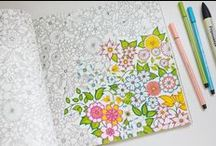Coloring / adult coloring books, coloring