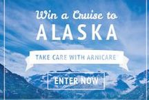 Alaska Adventure / Win a trip to Alaska courtesy of Arnicare! Sweepstakes details here: http://www.arnicare.com/sweeps/