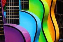 color / alle kleuren van de regenboog