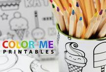 Tot School & Preschool Ideas / Learning activities for children ages 2+