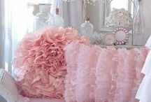 All things pink / Pastel, pale, bright, hot, as long as it is pink all is good with the girly world.