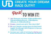 """::CONTEST:: RUN LIKE A GIRL / CONTEST - PIN TO WIN RUNNING GEAR 1) Follow @UltimateDirection @AnotherMotherRunner, @Skirt Sports - Convert to Skirt, & @AltraZeroDrop  2) Create a board and call it """"Run Like A Girl""""  3) Pin your favorite running items to that board tagged #runlikeagirl (hint Poylvore is how you create the collage)"""