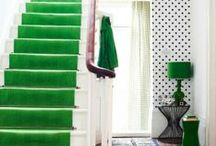 Colors at home / Homes, doors, interior and exterior design with magic colors