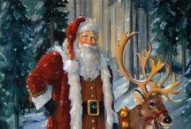 Santa ~~ 1 / by Annie Michel