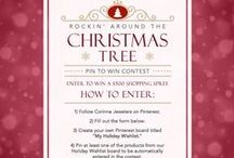 Rockin' Around The Christmas Tree / Enter our Pin To Win contest by visiting http://smarturl.it/Corinne_PinToWin for a chance to win a $500 Corinne Jewelers gift card!