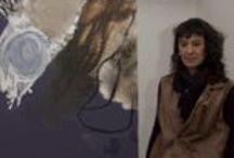 Olga Vieco Durán / Nacio en Medellín 1962, Pintora, pintura abstracta sobre tela
