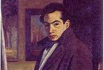 Eladio Velez / Eladio Vélez, pintor colombiano, nació en Itagüí, Antioquia en 1897 y murió en Medellín, Antioquia en 1967. Inició sus estudios en Bellas Artes, y luego viajó en 1927 a Italia y Francia para perfeccionarlos.  Fecha de nacimiento: 22 de septiembre de 1897, Itagüí, Colombia Fecha de la muerte: 23 de julio de 1967, Medellín, Colombia