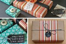 Gift Wrapping Ideas and DIYs / A ton of gift wrapping ideas for special occasions.