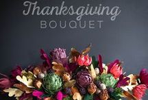 Thanksgiving Food, Decor and DIY Ideas / Be thankful this Thanksgiving with these awesome decor, food and DIY ideas.