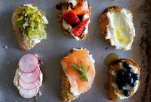 Small Food Recipes / Small Food - Appetizer Recipes for Entertaining Friends.