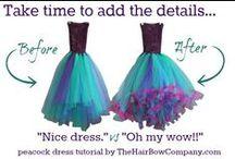 šaty návody
