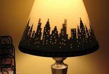 lampy a tienidlá