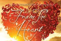 From The Heart - A Valentine's Day Anthology / A collection of 7 short stories written by 8 authors, with all royalties donated to The British Heart Foundation ❤️