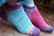 hačkovanie a pletenie - ponožky