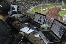 Medios tras la Vinotinto / Los que se ve tras bastidores en los juegos de la selección