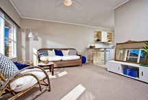 Home Staging - Aramoana Ave #1 / Freshly renovated. Having this unit dressed helped buyers see it's potential.