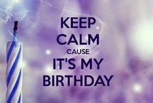 Happy Birthday! / Petit délire personne pour mon anniversaire!