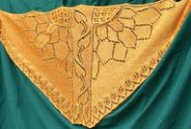 Shawl patterns by Natalie Servant / Patterns for original shawls using lace and colourwork